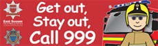 Get out stay out bookmark