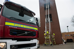 Ladder And Rescue Tower Uckfield April 2013