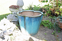 Planter with compost