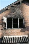 External fire damage