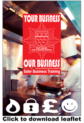 Safer Business Training leaflet