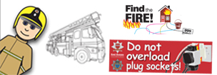 Franky Let's have fun learning about fire safety with lots of new games and quizzes.