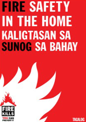 Tagalog Fire Safety In the Home