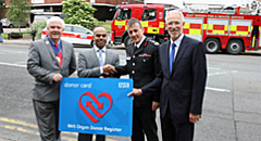 Encouraging more blood & organ donors