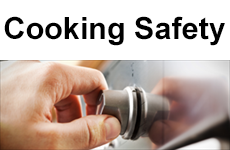 Cooking safety advice