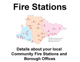 Details about your local community fire station and borough offices