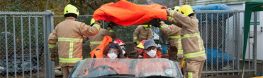 Picture of an extraction at an RTC demonstration