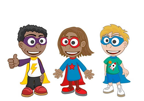 Dr Distractor Kids Superheros