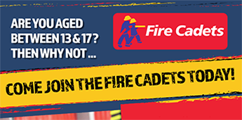 Fire Cadets get Involved