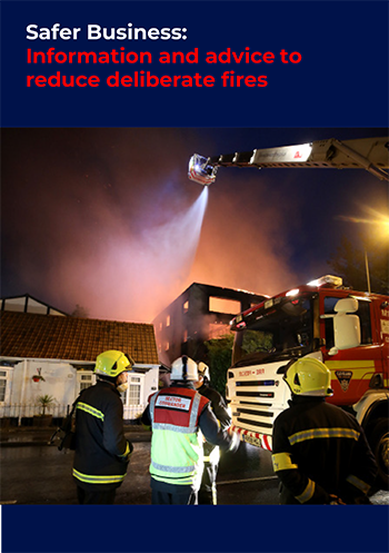 Arson Reduction-Business advice leaflet