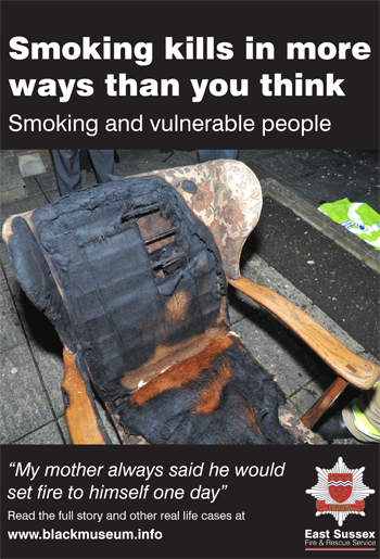 Smoking Chair flyer