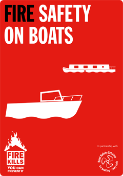 Fire Safety on Boats Leaflet