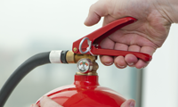 Fire extingusher small
