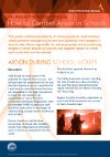How to Combat Arson in Schools Leaflet