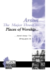 Arson: The Major Fire Threat to Places of Worship leaflet